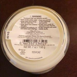 Bath & Body Works Accents - Pineapple Mango Bath & Body Works Candle